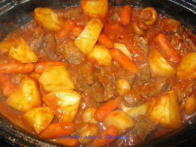 Photo of Diane's small dishes (angel): Cubed beef with tomatoes …