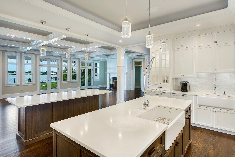 Coastal Dream Kitchen Brick New Jersey by Design Line ...