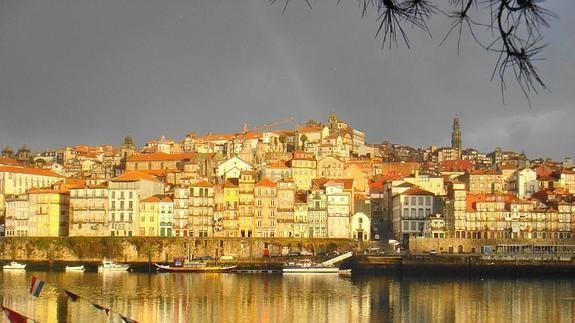 Oporto al atardecer, Porto, Portugal