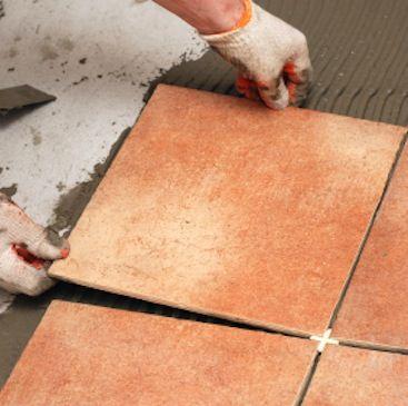 How To Install Ceramic Tile How To Lay Tile Vinyl Tile Flooring Tile Floor