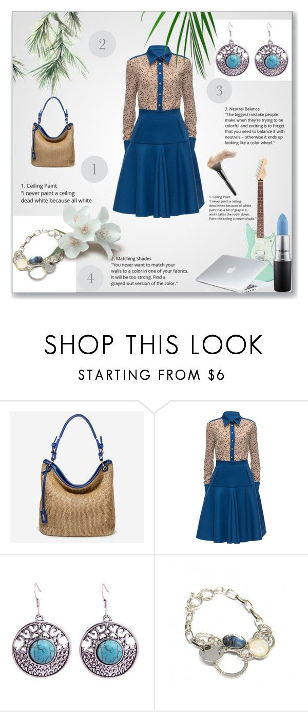 """""""She Anna Bell 3"""" by semic-merisa ❤ liked on Polyvore featuring Lattori, MAC Cosmetics, Dyson and sheannabella"""