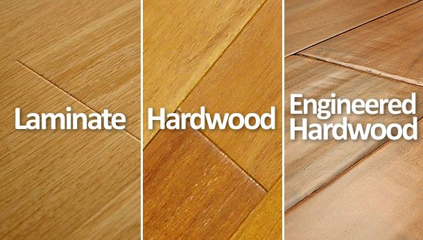 Hardwood vs Laminate vs Engineered Hardwood Floors  What