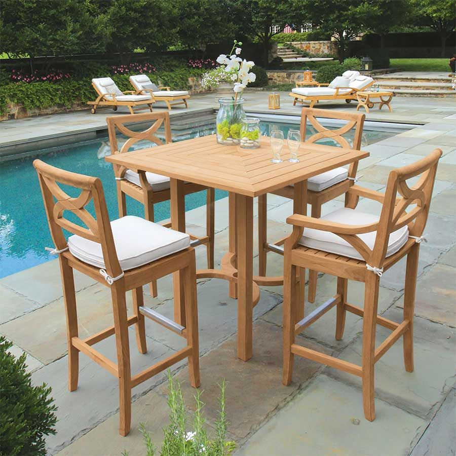 Kingsley Bate Chelsea 5 Piece Deep Seating Set In 2020 Teak Outdoor Furniture Backyard Furniture Outdoor Furniture