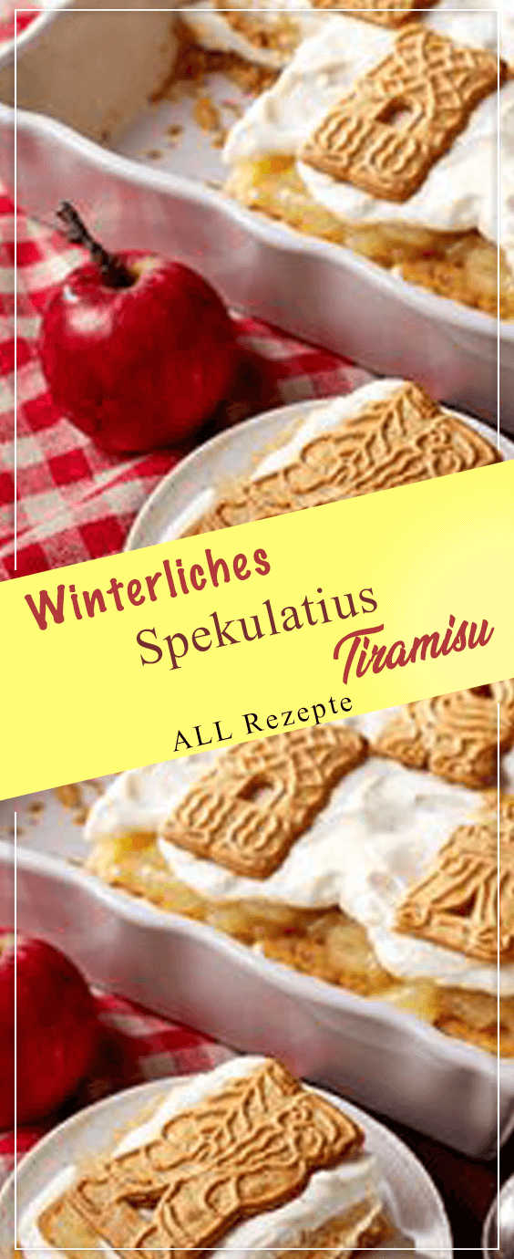 Photo of Winter speculaas Tiramisu.Winter speculaas Tiramisu