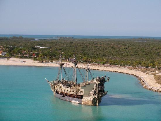 The Black Pearl Castaway Cay Disney Cruise Line S Private Island I Hope We Can Go Back Soon Castaway Cay Bahamas Bahamas Tourist