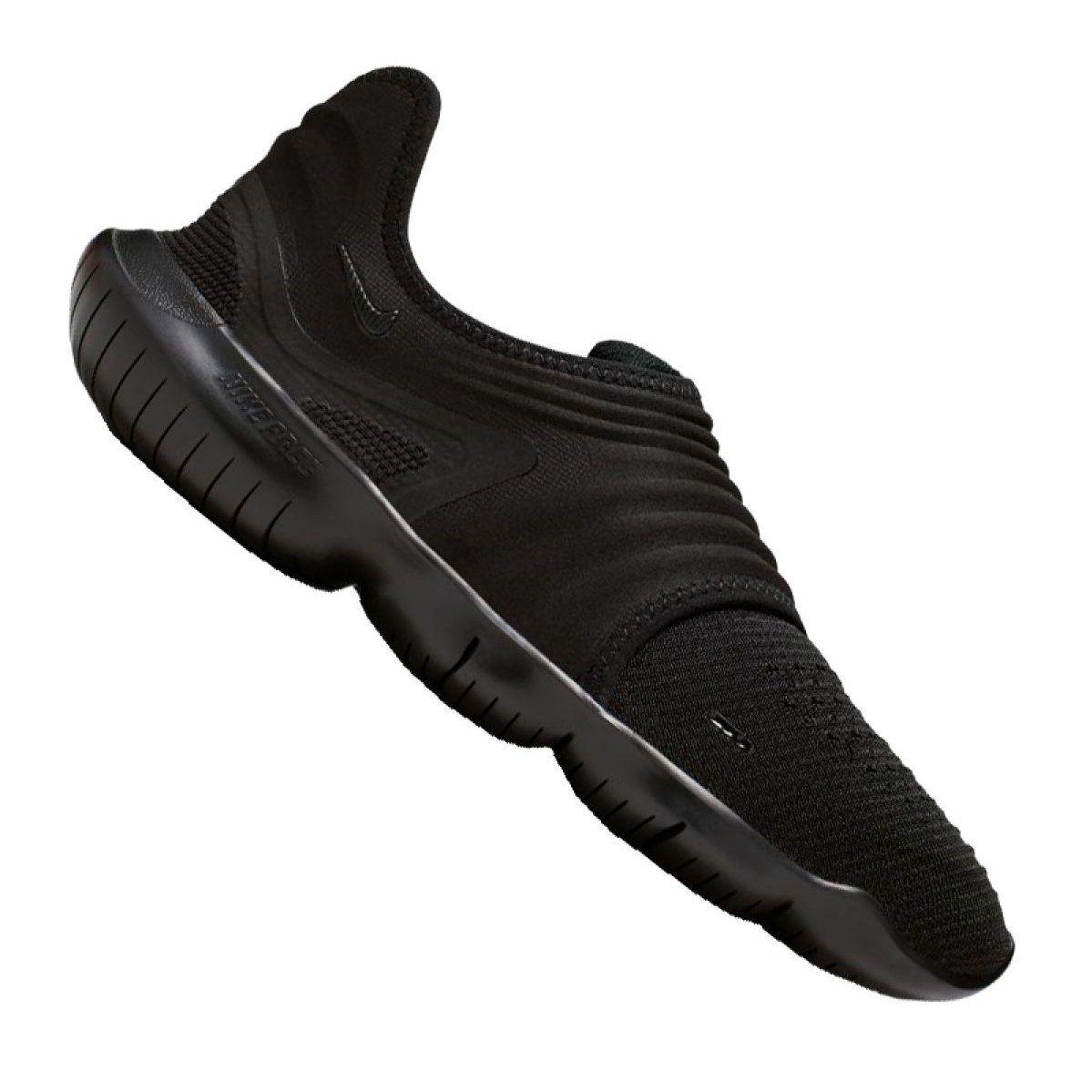 Running Shoes Nike Free Rn Flyknit 3 0 M Aq5707 006 Black Running Shoes Nike Free Nike Shoes Running Shoes Nike