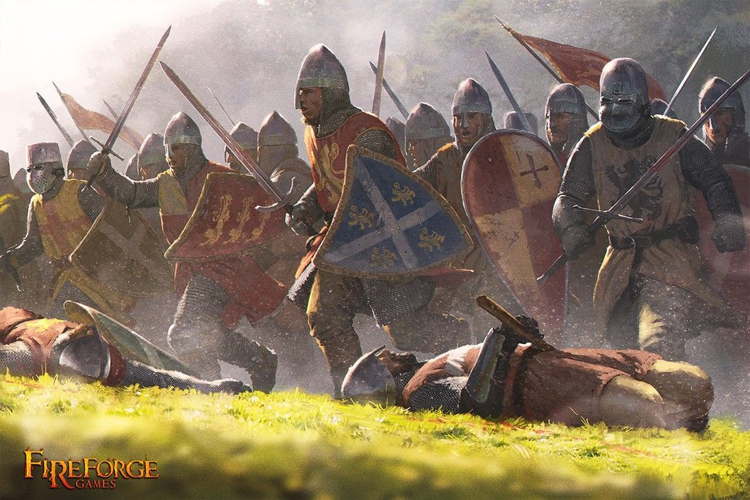 Swordman Warriors Medieval Art Fantasy Art War Art