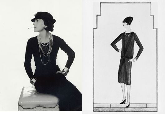 In 1926 The First Little Black Dress Was Designed By Coco Chanel Vogue Became Magazine To Publish A Drawing Of And