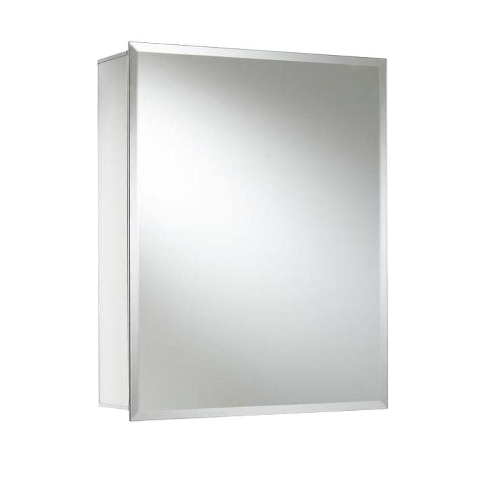 Croydex Winster 20 Inch X 16 Recessed Or Surface Mount Medicine Cabinet With