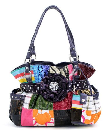 Look at this #zulilyfind! Purple Magnolia Tote by d'Orcia #zulilyfinds
