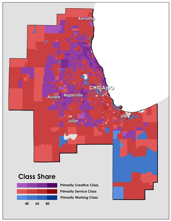 Urban geography and socio-economic pasterns - Class-Divided Cities: Chicago Edition - Neighborhoods - The Atlantic Cities
