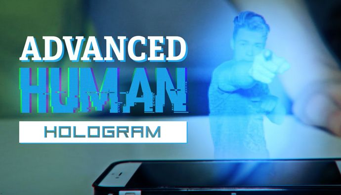 After Effects - Creating an Advanced Human Hologram Effect Tutorial