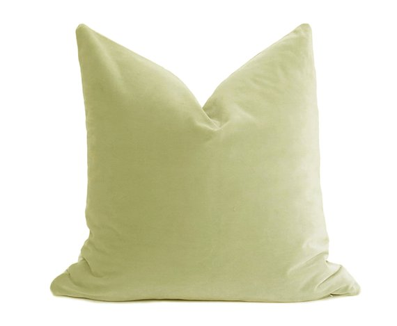 Belgium Cotton Velvet Pillow Cover
