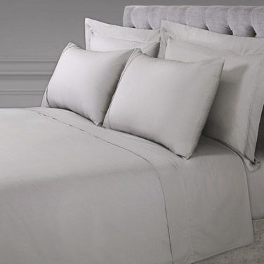 42b418551a Bed Linen | GREY Francis Brennan the Collection Grey Sheet Set | Dunnes  Stores