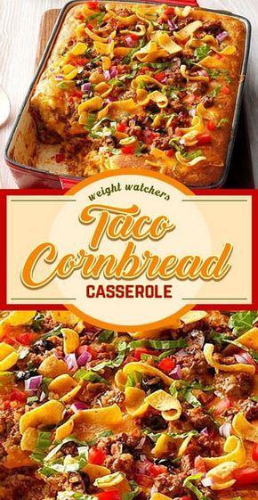 Photo of Taco Cornbread Casserole Recipe | Easy Cooking #casserole #c…