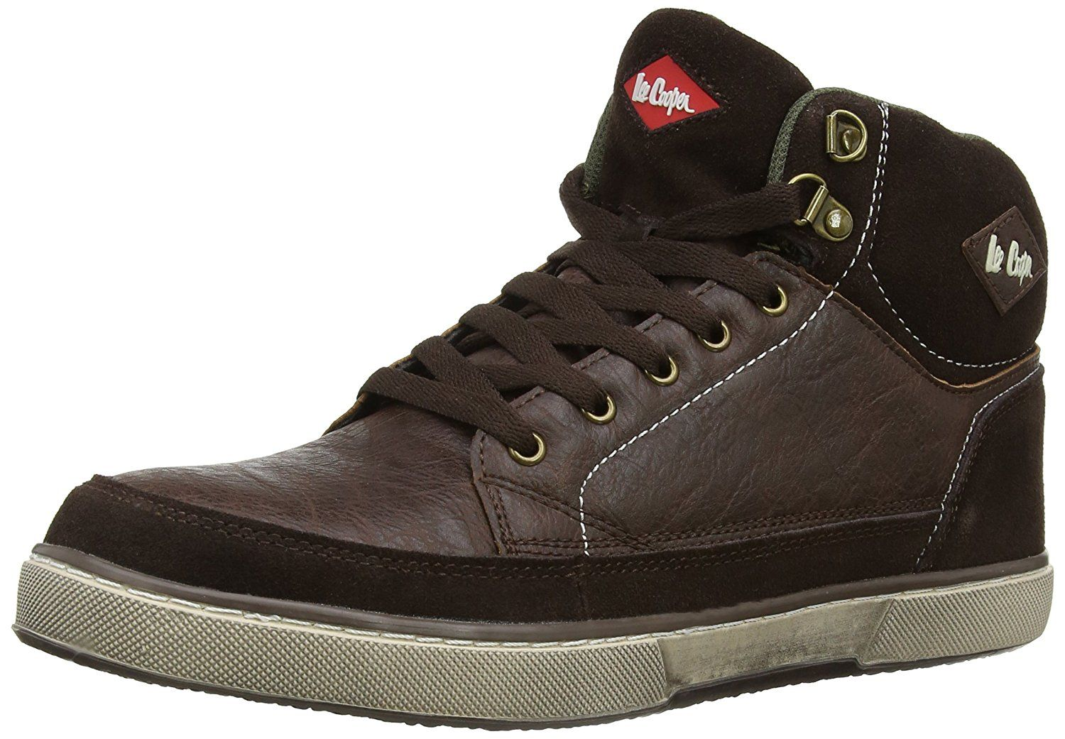 Lee Cooper Workwear Men's 086 S1P Safety Boots Brown