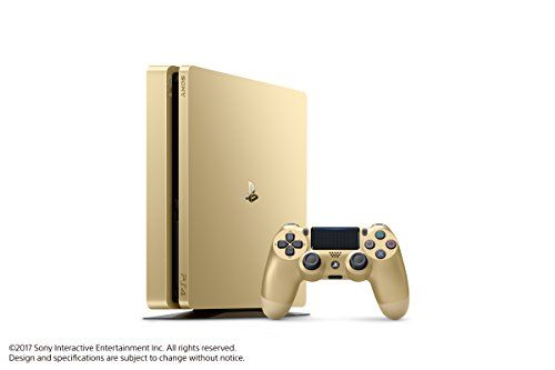 Playstation 4 Slim 1tb Gold Console Discontinued Playstation Videogames Playstation 4 Ps4 Console Playstation 4 Console