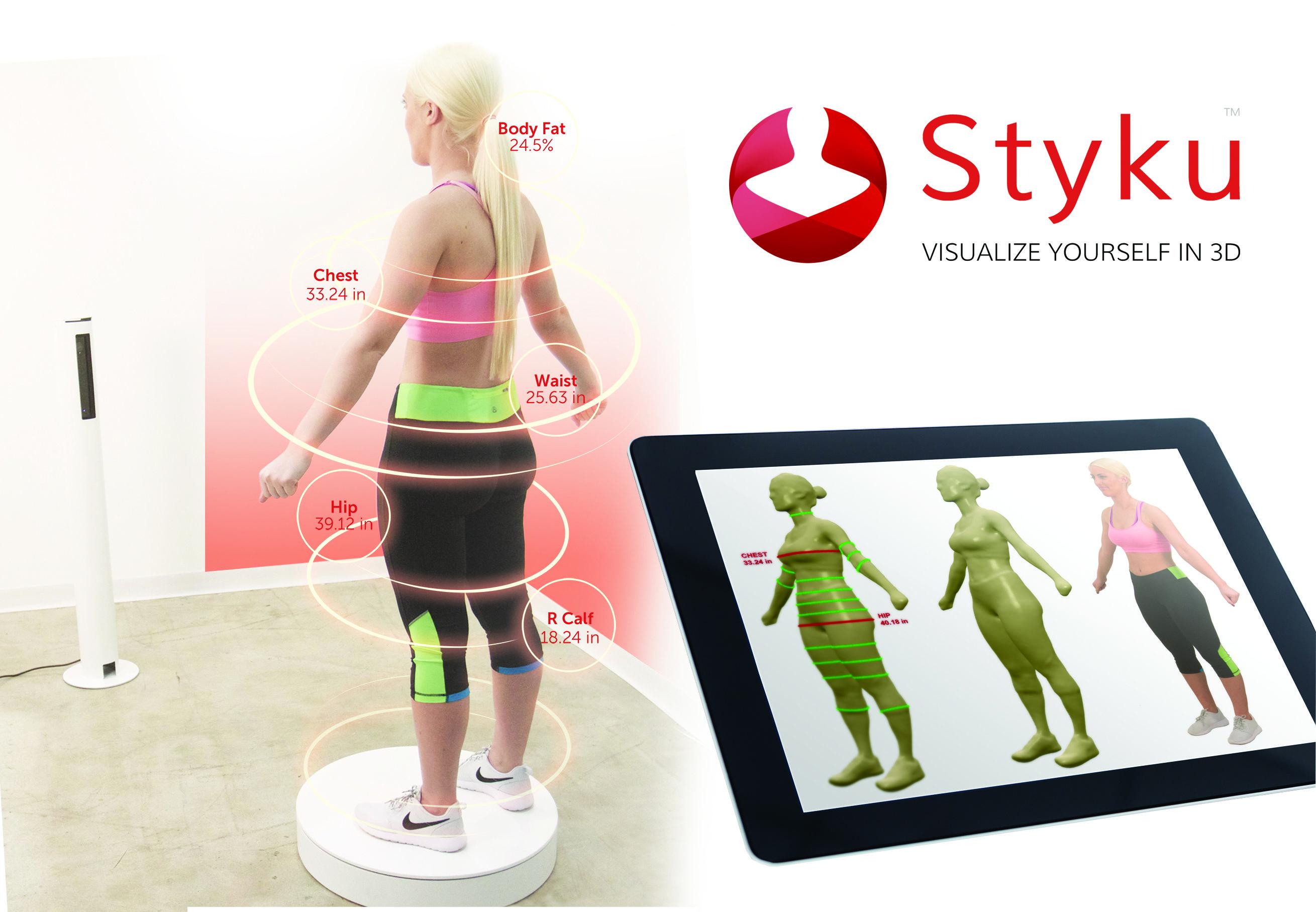 Para estrenar el 2017 Rocfit trae un nuevo producto al sector del fitness: #Styku. Un revolucionario escáner corporal en 3D creado con Microsoft para capturar la forma y las medidas reales de todos los clientes.