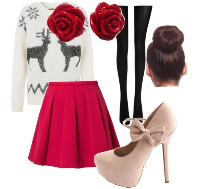 Cute Christmas Party Outfit Ideas Part - 18: 17+ Ideas About Christmas Outfit Teen On Pinterest | High School .