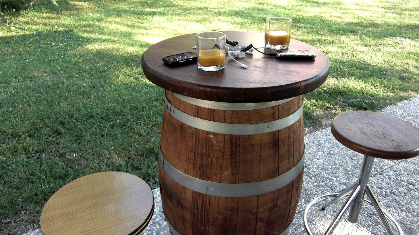 Botte Tavolo ~ 1788 tavolo #pub da #botte briganti integrato con dispositivo di