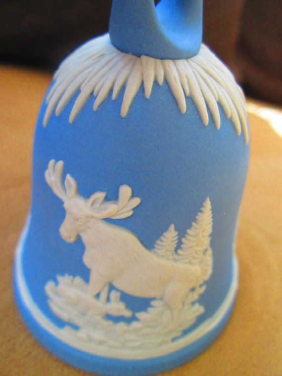 Hey, I found this really awesome Etsy listing at https://www.etsy.com/listing/233075866/wedgwood-christmas-bell-light-blue