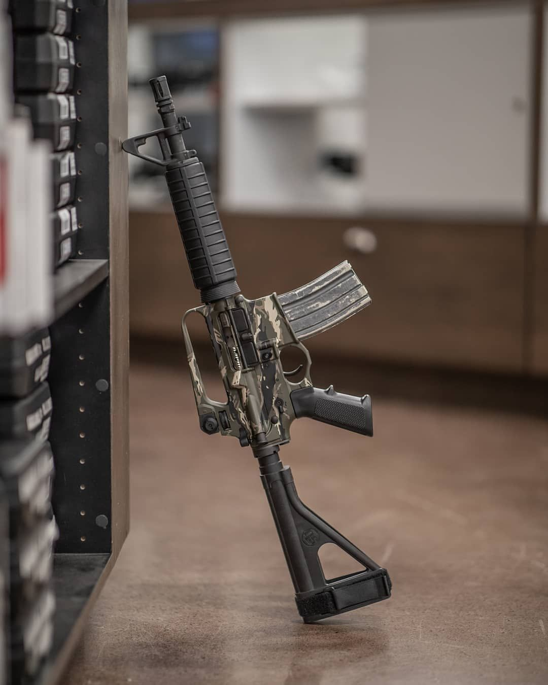 WillyLudlow's little blaster, the multicam @Spikes_Tactical