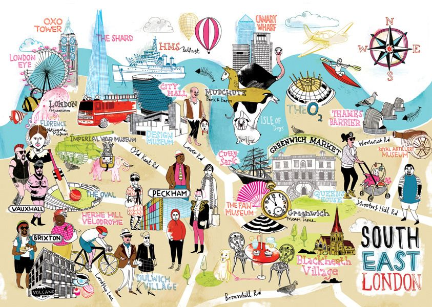 Illustrated London Things To Do London Guide To London Maps - London map guide