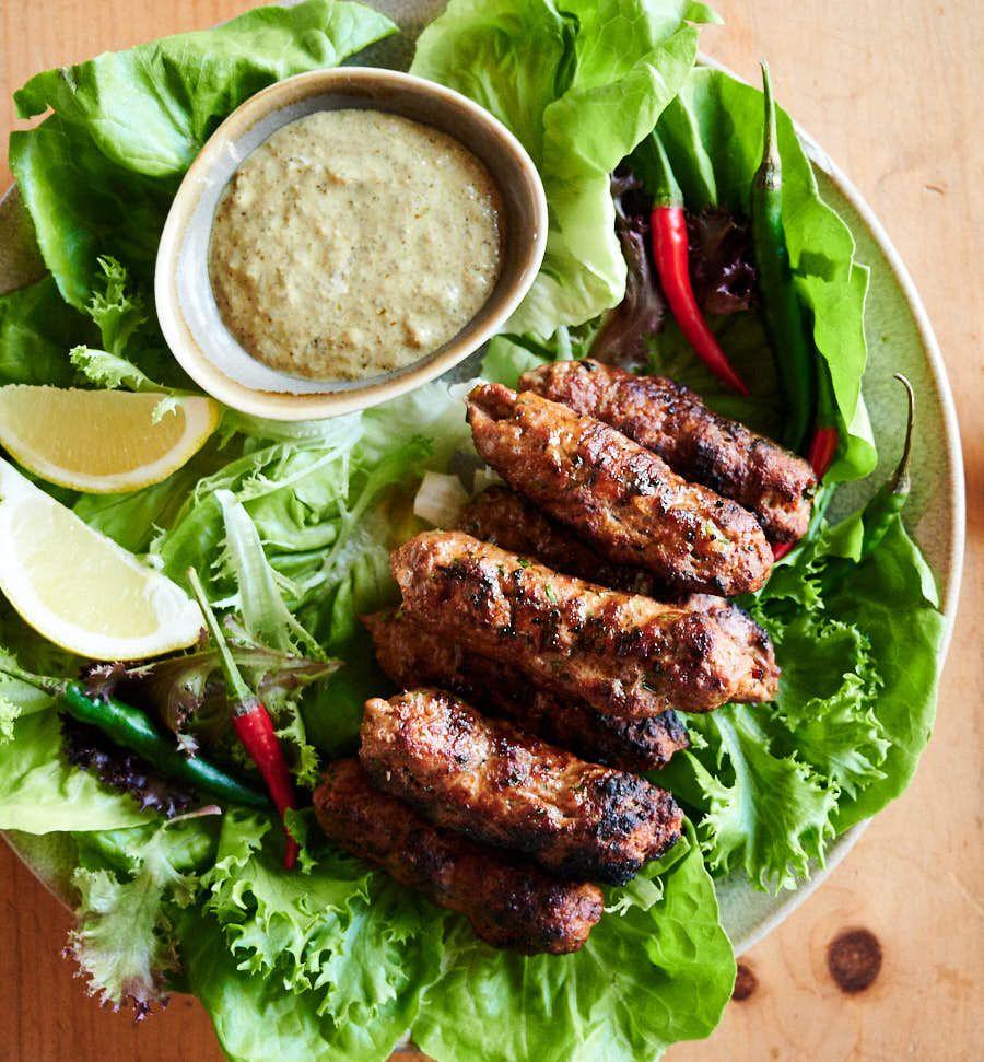 Seekh Kebab Spicy Lamb Skewers Recipe Lamb Skewers Kebab Recipes Beef Kebab