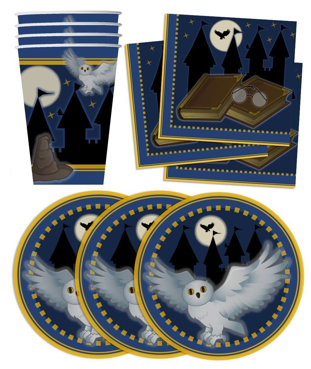 Amazoncom Wizard Castle Birthday Party Supplies Set Plates Napkins