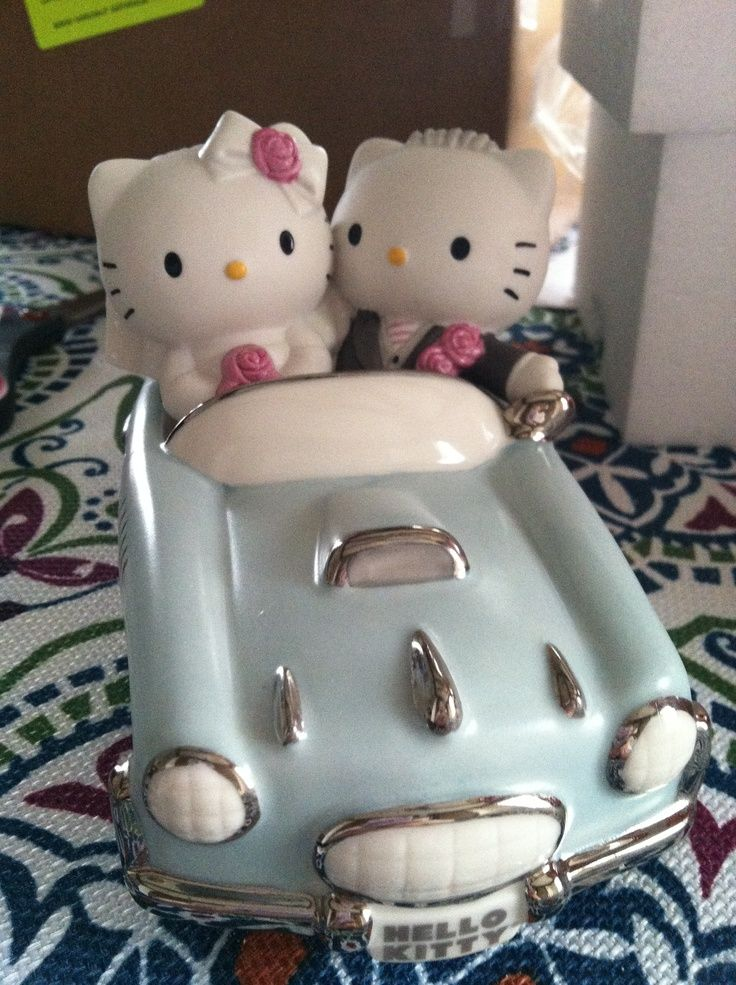 Cutest Hello Kitty Precious Moments Wedding Cake Topper