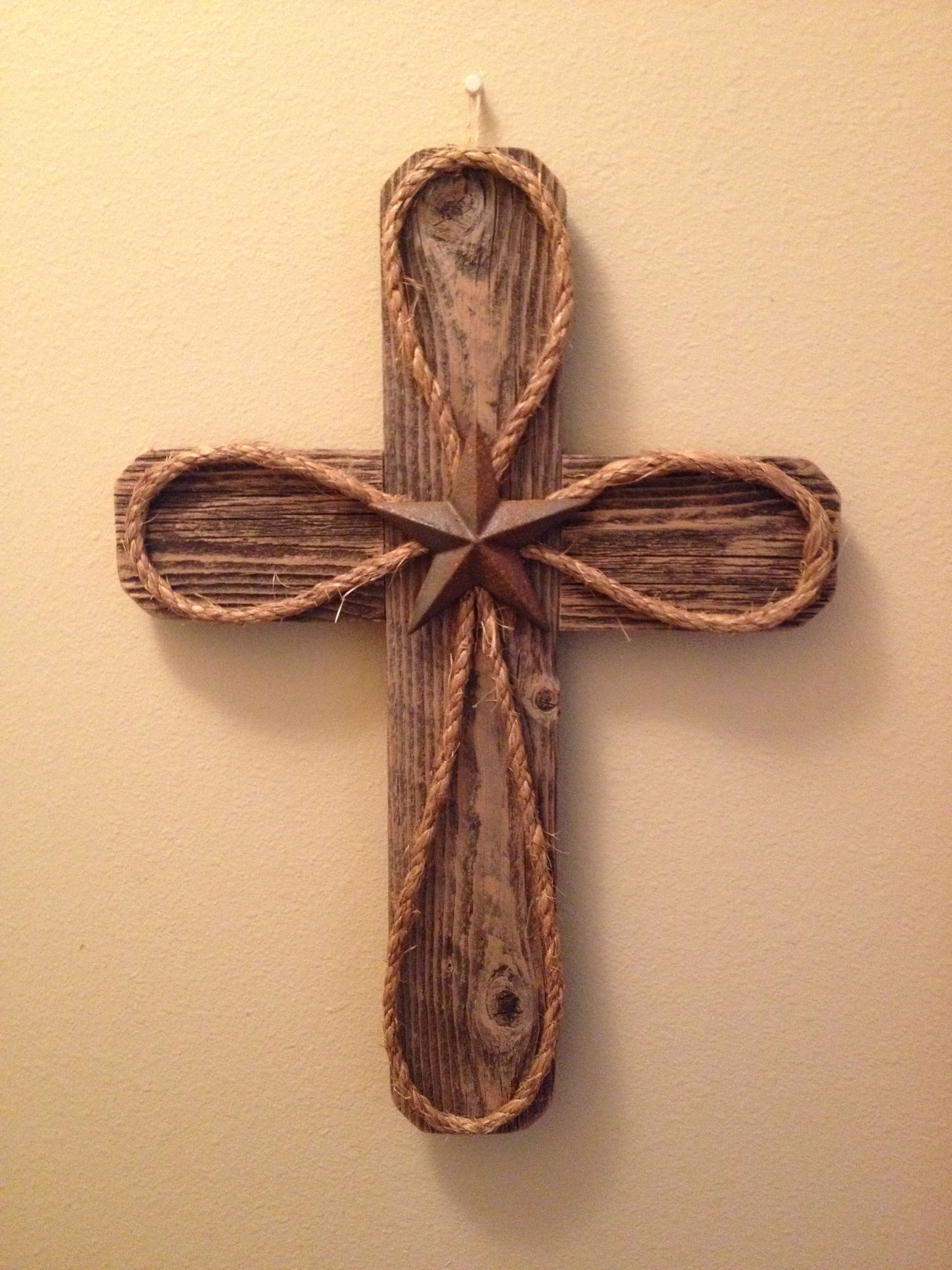 Old Rugged Cross (old fence boards)