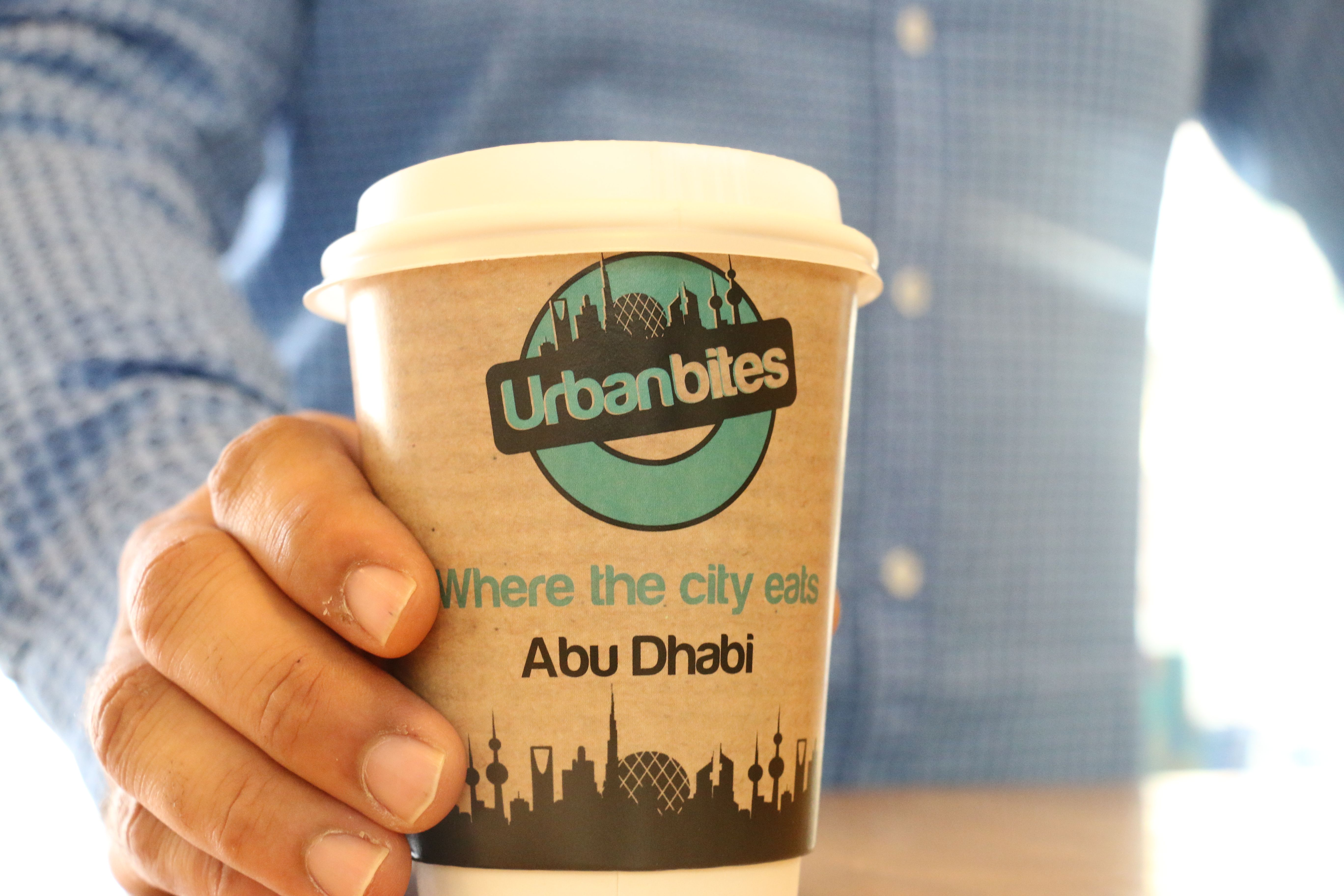 where the city eats in Abu Dhabi-> URBAN BITES