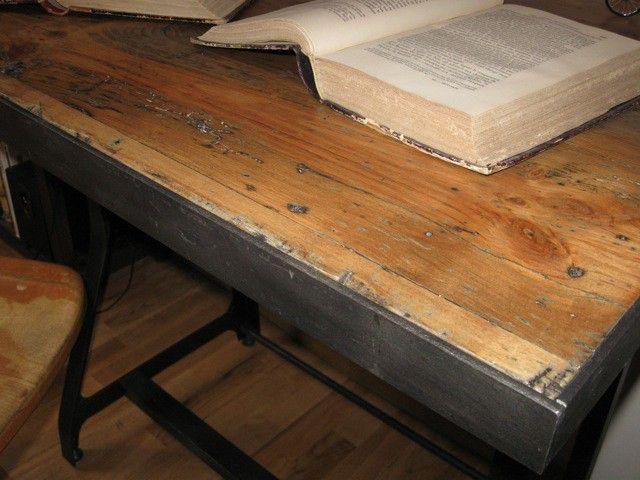 Bureau industriel furnitures pinterest bureau industriel