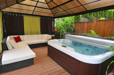 gazebo plans for hot tubs that are just perfect for relaxation - Hot Tub Enclosures