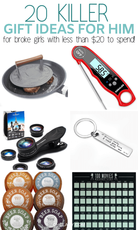 20 Gifts For Him Under 20 That Will Rock His World Romantic