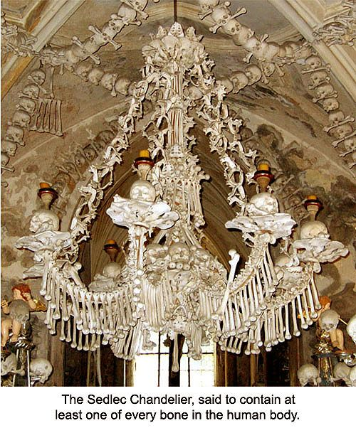 The sedlec bone chandelier czech republic bone gallery the sedlec bone chandelier czech republic bone gallery aloadofball