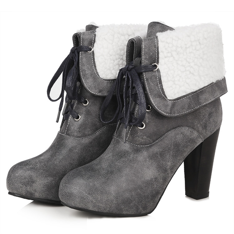 44.46$  Watch now - http://ai3xl.worlditems.win/all/product.php?id=32664392134 - women sexy ankle zapatos mujer chelsea cowboy military tactical colorful boots com salto finogladiator high heels shoes  T7-3