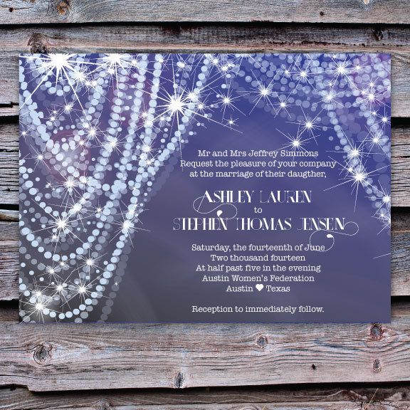 Wedding Invitation Diamonds And Pearls By Scriptedeverafter