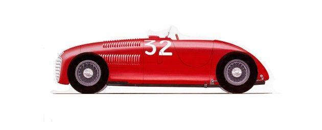 1947_Ferrari125_C. El primer Ferrari, el 125, tuvo una vida corta pero intensa. De hecho, el modelo sólo se utilizó en el primer año de actividad de Ferrari, 1947. Únicamente se construyeron tres y participaron en 12 carreras (14 salidas en total), en las que se consiguieron seis victorias, dos segundos y un quinto puesto.