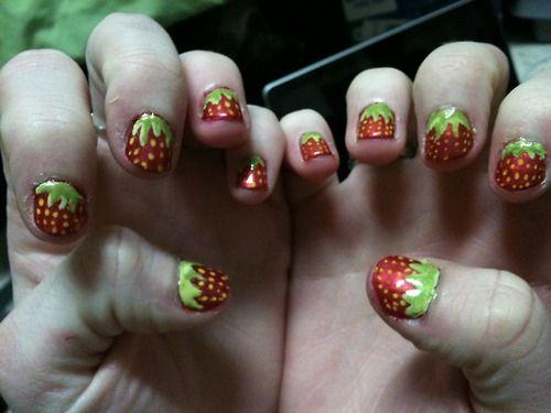 summertime fingernails!!