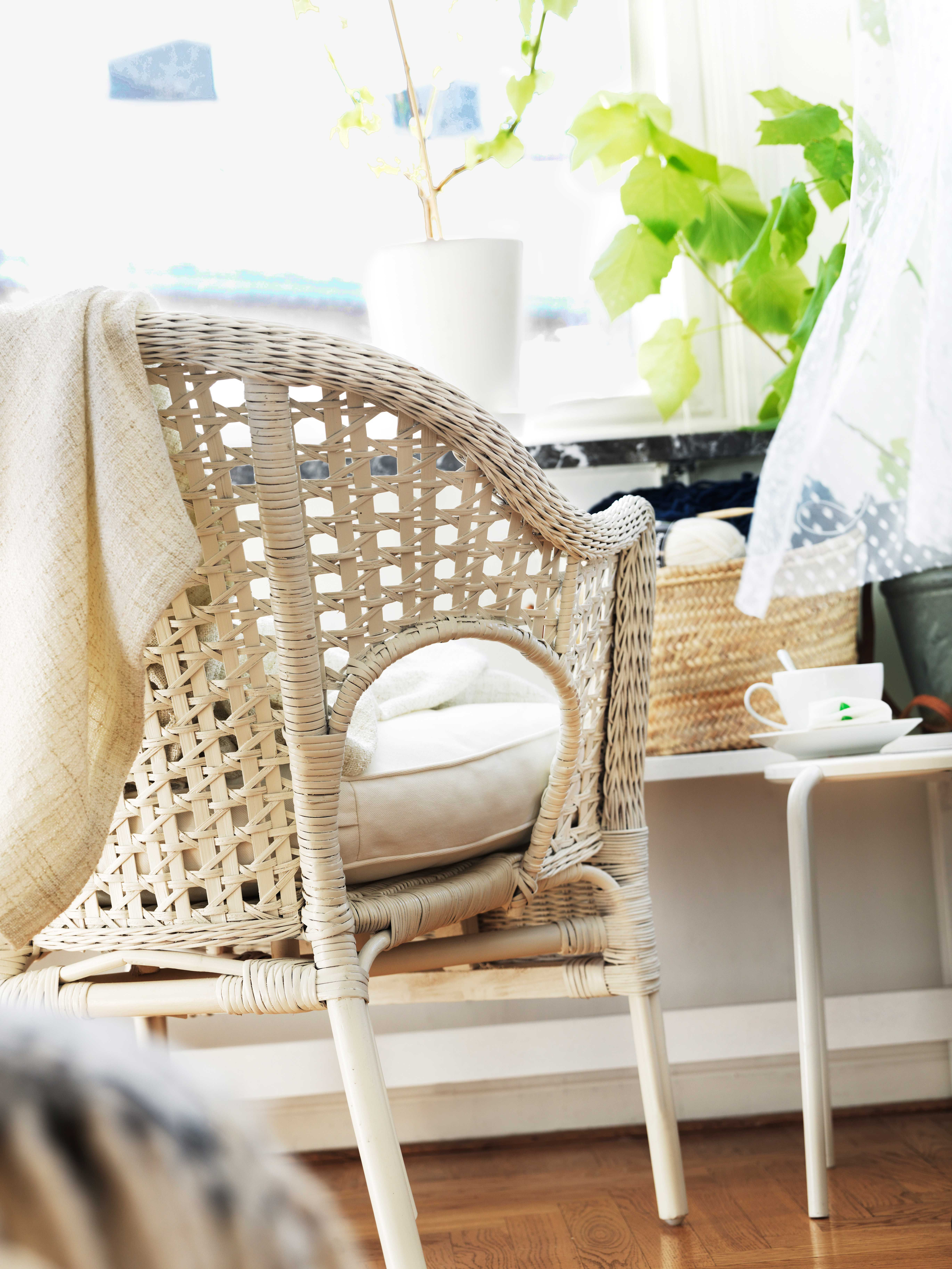 IKEA Sterreich Inspiration Wohnzimmer Sessel FINNTORP