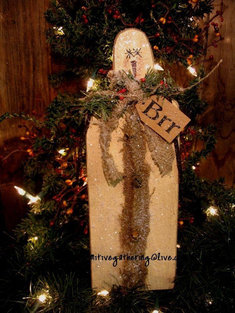 13\ - primitive christmas decorations