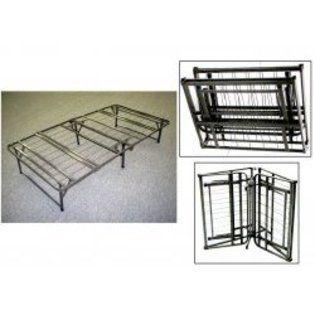 Pragma Quad Folding Portable Bed Frame Twin Gray 14 H X 39