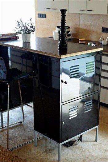 Ypperlig Keuken bar met Ikea PS lockerkast zwart #ikeahack | Ikea | Ikea GS-58