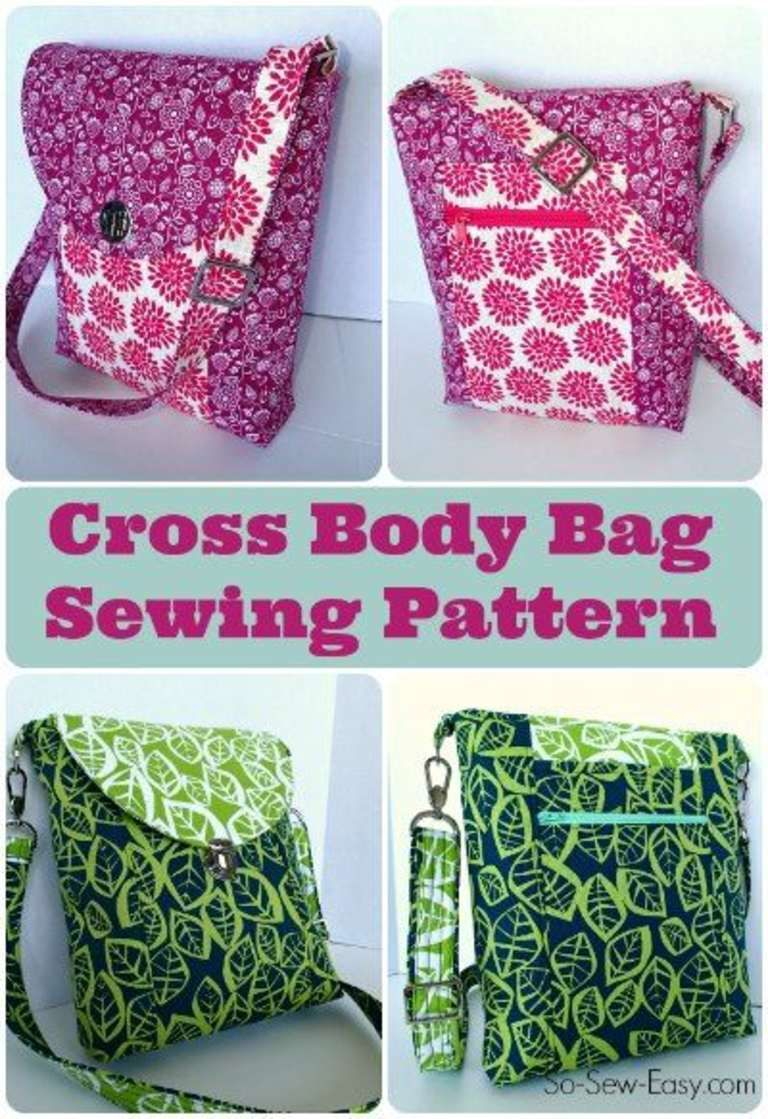 Cross Body Bag Pattern Simple Ideas