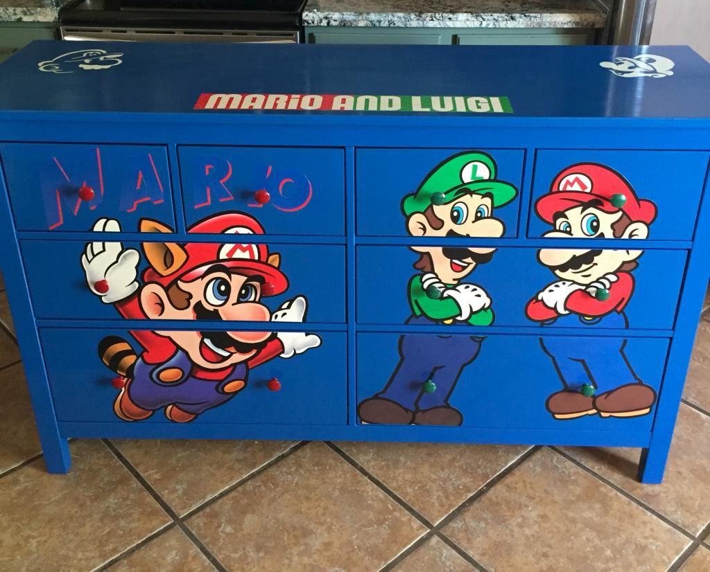Best Super Mario Inspired Furniture Boyus room decor ideas