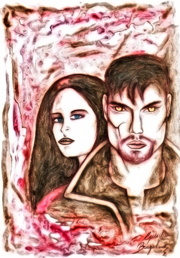 Beauty & the Beast (2012 TV series) Vincent & Catherine << Perhaps be strong it means to follow your heart regardless. >> -Heather #VinCat #BATB #BeautyandtheBeast @cwbatb #tvseries #art #paint #fun #likeforlike #truelove #beauty #beast #fable #Catherine #Vincent #KristinKreuk #JayRyan #NinaLisandrello #AustinBasis #CBS #drama #thriller #fantasy #actors #scene