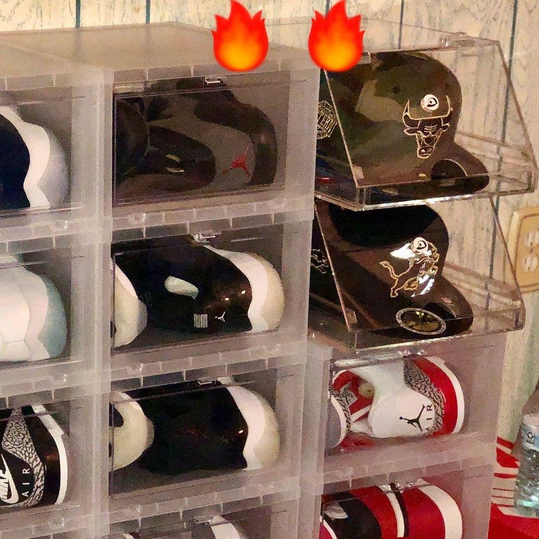Pin By Faby Bowles On Organization Diy Hat Rack Hat Storage Cap Display