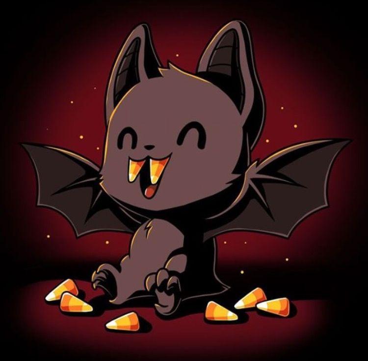 Vampire Bat With Images Cute Drawings Cute Animal Drawings