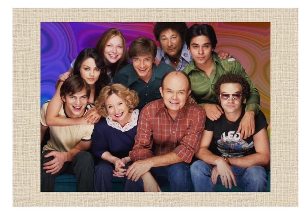 """That 70's Show  5""""X7"""" Photo Ready to Frame"""